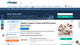 Zapals Coupon Codes and Discounts: Up to 80% off | finder.com.au