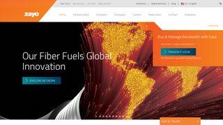Global Network Solutions Provider   Zayo Group, LLC.