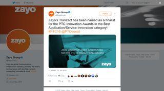 Zayo Group on Twitter: