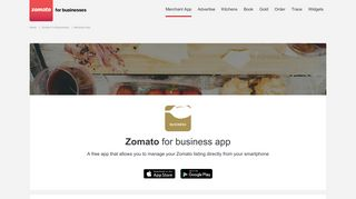 Zomato for Business App