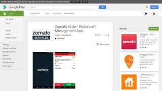 Zomato Order - Restaurant Management App – Apps on Google Play