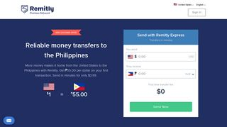 Send or Transfer Money to the Philippines from the United States with ...