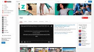 Zopa - YouTube