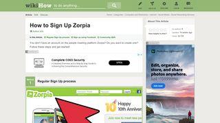 In zorpia sign Zorpia Reviews