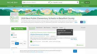 2020 Best Public Elementary Schools in Beaufort County, SC ...