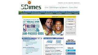 5Dimes Sportsbook, Casino, Racebook, Poker Room and ...