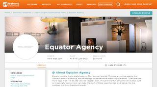 71 Equator Agency Customer Reviews & References ...
