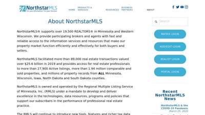 About NorthstarMLS — NorthstarMLS