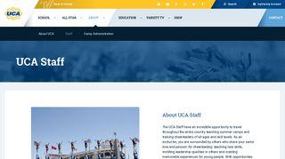 About UCA Staff | Universal Cheerleaders Association