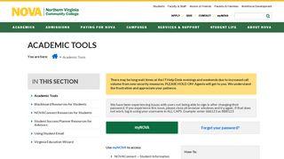 Academic Tools :: Northern Virginia Community College