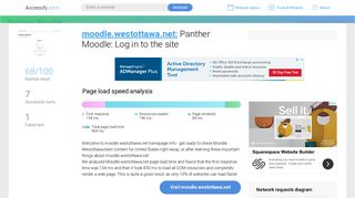 Access moodle.westottawa.net. Panther Moodle: Log in to the ...