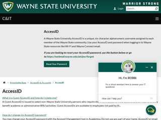 AccessID - C&IT Knowledge Base - Wayne State University