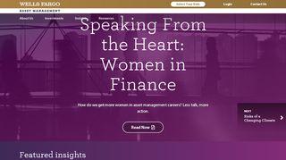 Account Access Login- Wells Fargo Funds