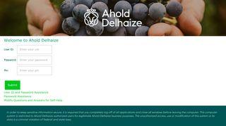 Ahold Delhaize US Login