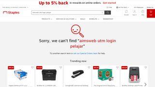 aimsweb+utm+login+pelajar - Staples