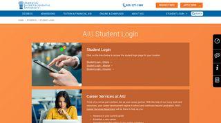 AIU Student Login | American Intercontinental University