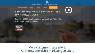 All-In-One Local Internet Marketing & Advertising  Yodle