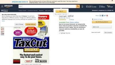 Amazon.com: Kiplinger TaxCut