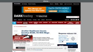 Another Healthcare Insurer, Excellus BCBS, Hit With ...