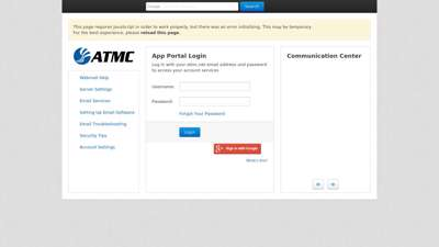 App Portal Login - myapplicationportal.com