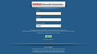 associate connection - Staples