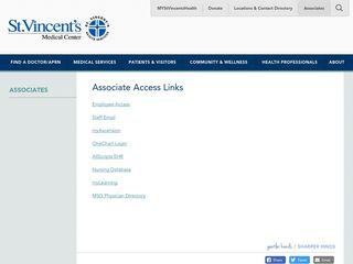 Associates   St.Vincent's Medical Center
