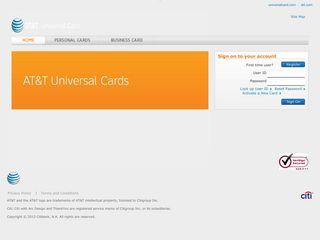 AT&T Universal Card: Home - Citi.com