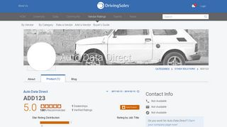 Auto Data Direct ADD123 Ratings & Reviews   DrivingSales ...
