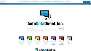 Auto Data Direct, Inc.: Home