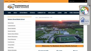 Baldwin Street Middle School - Hudsonville Public Schools