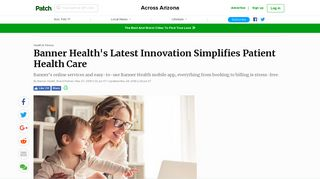 Banner Health's Latest Innovation Simplifies Patient Health ...