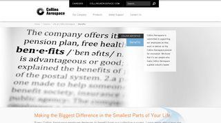 Benefits - Collins Aerospace