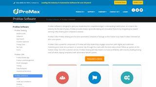 Best automotive software   ProMax automotive dealership ...