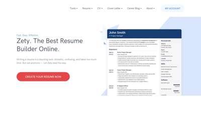 Best Resume Builder Online: Create a Resume in a Few Clicks