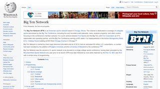 Big Ten Network - Wikipedia