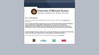 Blackboard - University of Missouri-Kansas