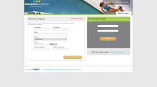 Bluegreen Vacations > Login Or Sign Up - secure-booker.com