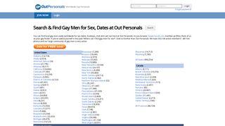Browse - OutPersonals.com