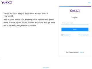 BT Webmail - Yahoo - login