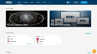 BTN+ > Big Ten Network Live Streaming and On-Demand ...