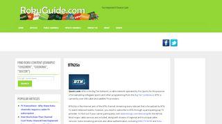 BTN2Go   Roku Guide