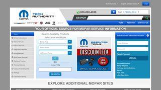 Buy Mopar Approved Service Information