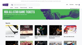 Buy sports, concert and theater tickets on StubHub!