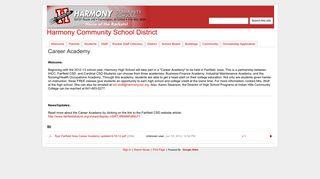 Career Academy - Harmony Community School District