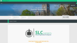 Career Center | Human Resources - SLC.gov