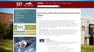 Career Connect :: RRCC's Online Career Network   Red Rocks ...