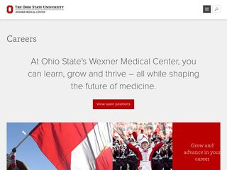 Careers at The Ohio State University Wexner Medical Center