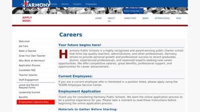 Careers - new.harmonytx.org