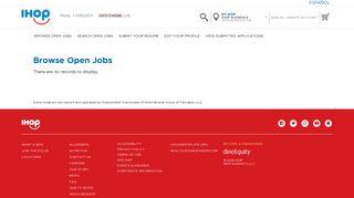 Careers - Welcome to IHOP