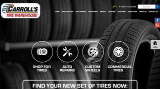 Carroll's Tire Warehouse :: Porterville CA Tires & Auto Repair ...